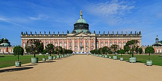 New Palace (Potsdam) - The New Palace in Sanssouci Park