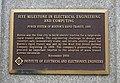 Power System of Boston's Rapid Transit, 1889, IEEE Milestone plaque - Boston, Massachusetts - DSC08952.jpg