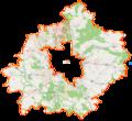 Powiat poznański location map.png