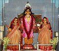 Prabhu Nityananda, Mata Vasudha (left), Mata Janhava (right).jpg
