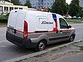 Praha, automobil JC Decaux, zezadu.jpg