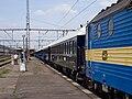 Praha-Smíchov, Orient Express, pohled od lokomotivy.jpg