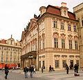 Praha-Staré Město, Staroměstské náměstí čp. 606, palác Goltz-Kinských.JPG