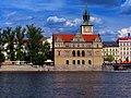 Praha - Vltava - View East towards the Smetana Museum.jpg
