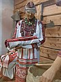 Preparing Erzya bride's dowry. Another woman from the bride's family 10.jpg