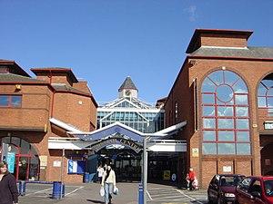Prescot Shopping Centre - Prescot Shopping Centre entrance