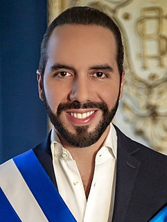 Nayib Bukele President of El Salvador