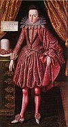 Prince Charles the Future Charles I by Robert Peake, 1613. (University of Cambridge).jpg