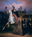 Prince Jozef Poniatowski in front of grenadiers by January Suchodolski (1857).png