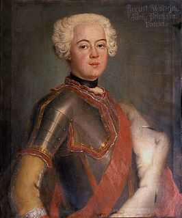 Prince Augustus William of Prussia German general
