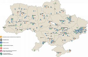 Ukraine prison ministry - Concentration of prison facilities in regions of Ukraine is different. 29 prisons occurred on the occupied territory of Donbas.