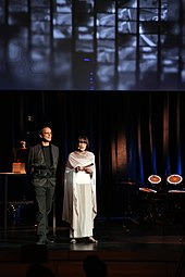 Prix Ars Electronical 2013 03 Christine Schöpf Gerfried Stocker.jpg