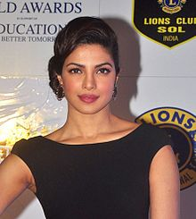 A photograph of Priyanka Chopra attending the 21st Lions Gold Awards