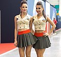 Promo girls at Igromir 2013 (10091538175).jpg