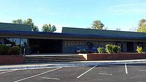 Prospect High School (Saratoga, California) - Image: Prospect High School Saratoga California