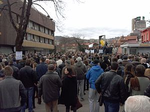 Protests in Zenica on 10 February 2014.jpg