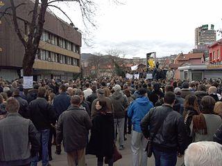 2014 unrest in Bosnia and Herzegovina