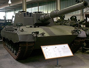 Leopard 2 - The Leopard 2 T14 mod. with the modified turret housing composite armour