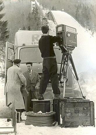 Radiotelevizija Slovenija - TV Ljubljana's first broadcast for Eurovision in 1960