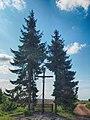 Przydrożny krzyż. Wieś Mieścin, pow. tczewski.jpg
