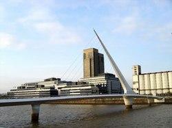 Women's Bridge in Puerto Madero, Buenos Aires