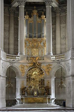 Robert Clicquot - The notable Clicquot organ of the Versailles Chapel