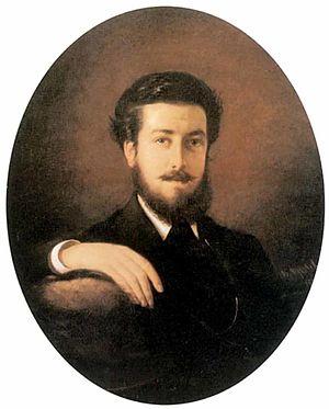 Vasili Pukirev - Self-portrait (1868)