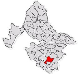 Vị trí của Punghina