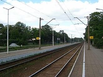 Puszczykowo - Puszczykowo's train station