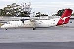 QantasLink (VH-SBT) de Havilland Canada DHC-8-315Q taxiing at Wagga Wagga Airport.jpg