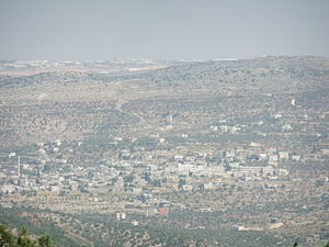 Qarawat Bani Zeid - View of Qarawat Bani Zeid, 2012