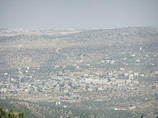 Qarawat Bani Zeid Municipality type D in rb, State of Palestine