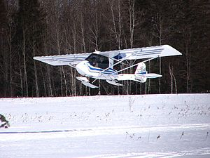 Ultralight aircraft (Canada) - A common advanced ultralight seen in Canada: Quad City Challenger II