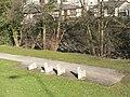 Quakers' Yard, riverside path - geograph.org.uk - 696123.jpg