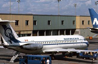 Quebecair - Quebecair operated BAC One-Eleven