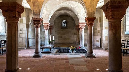 Quedlinburg Krypta der Stiftskirche St.Servatii