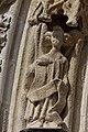 Quimper - Cathédrale Saint-Corentin - Statue des Voussures du portail - PA00090326 - 0011.jpg
