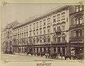Rákóczi út 5., Pannónia szálló. A felvétel 1890 után készült. - Budapest, Fortepan 82670.jpg