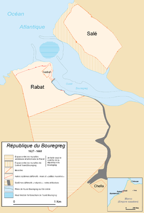 République du Bouregreg, Republic of Bouregreg, 1627-1668.PNG