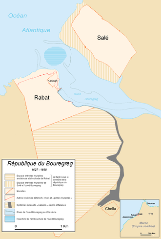 Republic of Salé - Rabat-Salé, where the republic was located