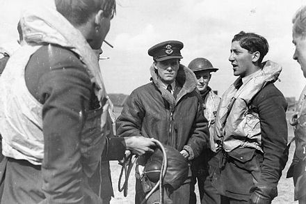 A Spitfire pilot recounts how he shot down a Messerschmitt, Biggin Hill, September 1940 RAF Fighter Command 1940 HU104450.jpg