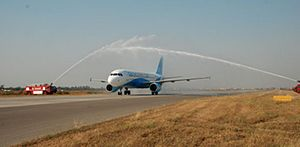 RAK AIRWAYS LAHORE FIRST FLIGHT.JPG