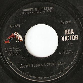 RCA Records - RCA used this label for its American 45 rpm records during the Dynagroove era from 1965 to 1968.