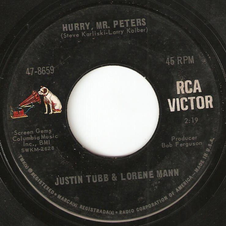 RCA Victor 47-8659 - HurryMr.Peters