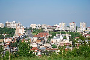 RO OT Slatina center from Gradiste hill 1.jpg