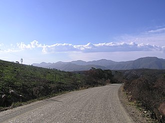 Regional routes (South Africa) - Image: RSA R340 Alfred Pass