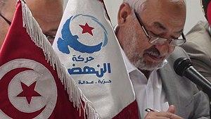 Français : Photographie de Rached Ghannouchi