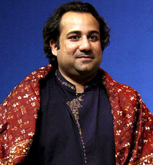 1st ARY Film Awards - Rahat Fateh Ali Khan received the Best Male Playback Singer Award for Zinda Bhaag.