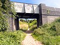 Railway bridge over bridleway - geograph.org.uk - 521358.jpg