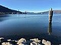 Ranfjorden, Movika, Mo i Rana havn, Langneset, Mo i Rana, Norway - Havmannen sculpture by A. Gormely - 2017-10-09 b.jpg